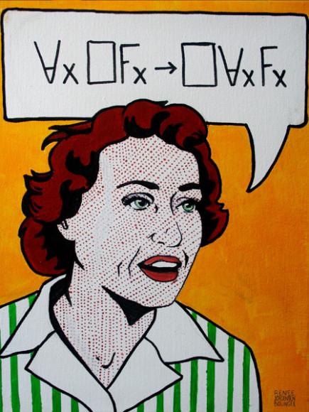Ruth-Barcan-Roy-Lichtenstein-